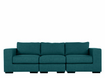 Mortimer 4 Seater Modular Sofa, Shadow Teal