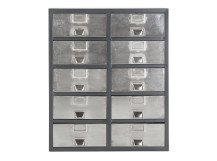 Stow Large Storage Unit, Silver