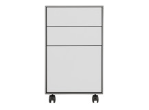 Stretto Small Filing Cabinet, Grey