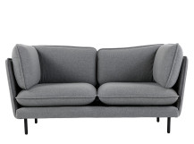 Wes 2 Seater Sofa, Whisper Grey