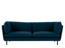 Wes 3 Seater Sofa, Petrol Teal