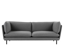 Wes 3 Seater Sofa, Whisper Grey