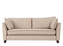 Wolseley 3 Seater Sofa, Fawn Beige Wool