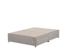 Skye 2 Drawer Double Divan, Owl Grey