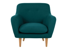Dylan Armchair, Mineral Blue