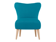 Finch Arte Chair, Kingfisher Blue