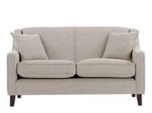 Halston 2 Seater Sofa, Pebble Weave