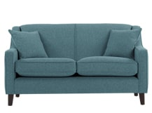 Halston 2 Seater Sofa, Teal Weave