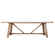 Iona Dining Table, Solid Pine