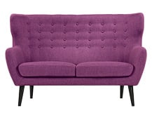 Kubrick 2 Seater Sofa, Plum Purple