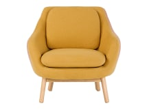 Oslo Accent Chair , Yolk Yellow