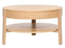 Pippa Coffee Table, Light Oak