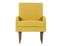 Profile Chair, Amber Linen