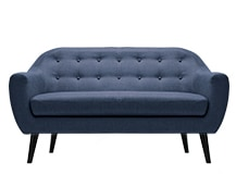 Ritchie 2 Seater Sofa, Scuba Blue