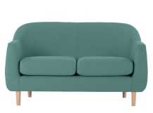 Tubby 2 Seater Sofa, Soft Teal