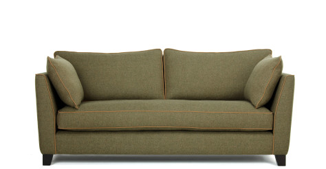 Wolseley 3 Seater Sofa, Wool Tweed