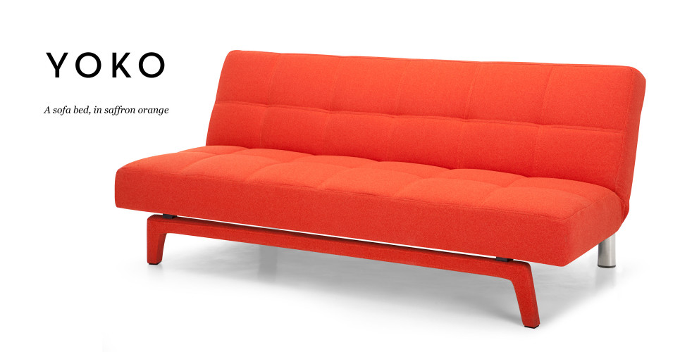 How To Open An Ikea Futon Emily Faux Leather Convertible