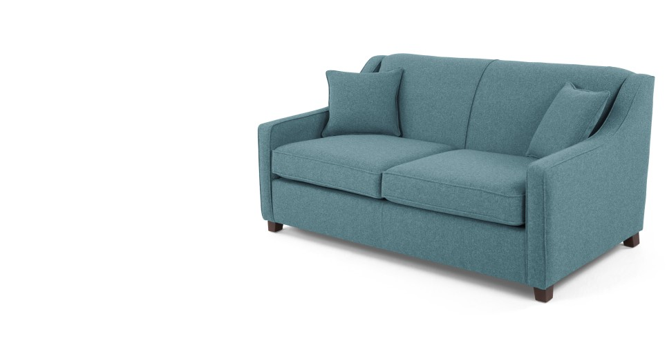Halston Sofa Bed Teal Weave