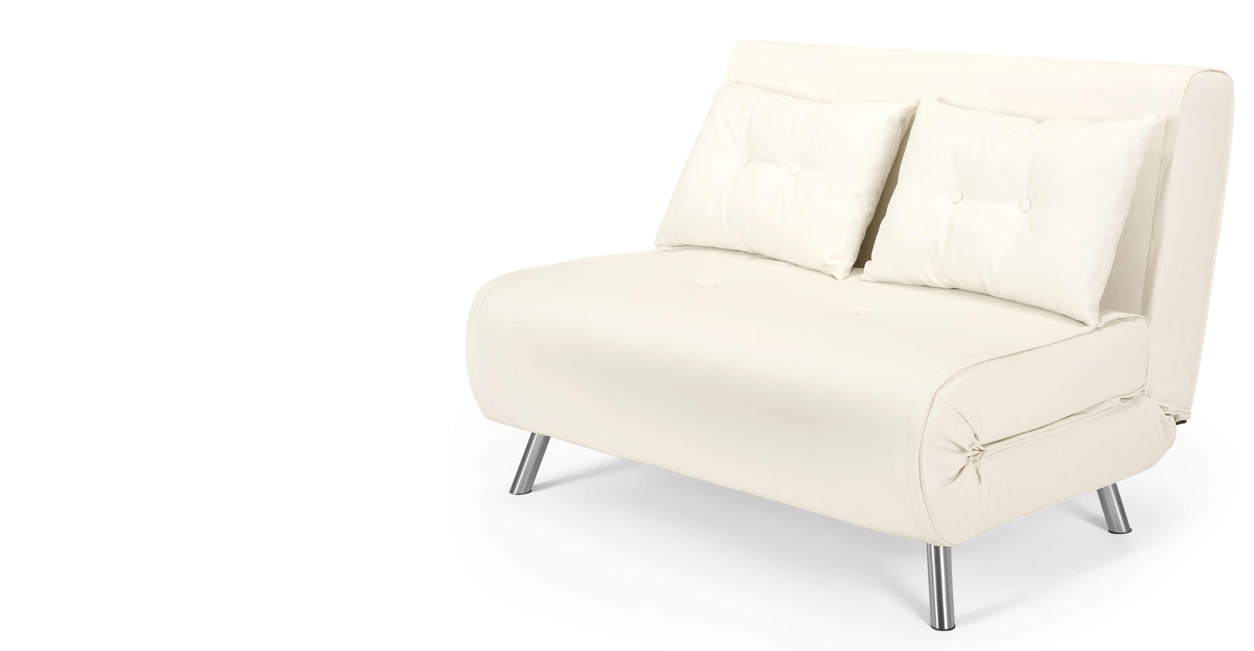 Haru small sofa bed in ibis cream Couches bed