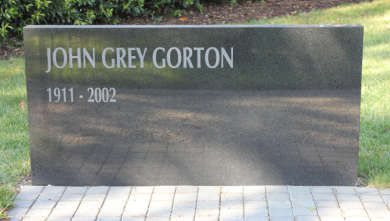 Gorton Monument, Melbourne General Cemetery
