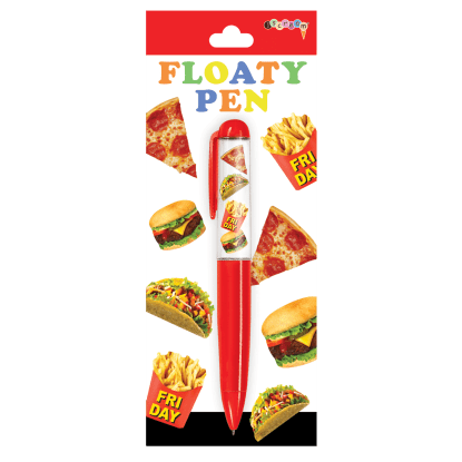 Picture of Junk Food Floaty Pen