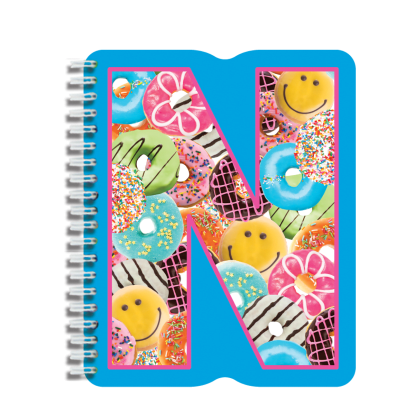 Picture of N Initial Notebook