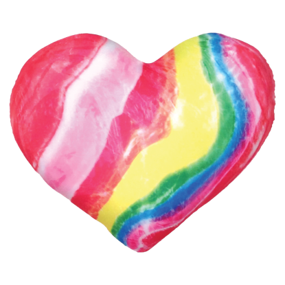 Picture of Candy Heart Microbead Pillow