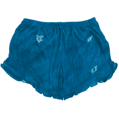 Picture of Denim Ruffle Shorts