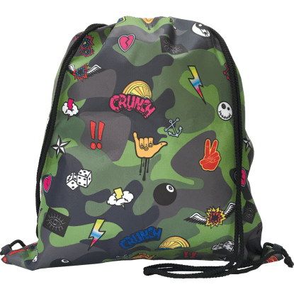 Picture of Camo Drawstring Bag