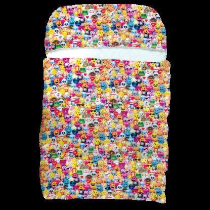 Picture of Emoji Collage  Sleeping Bag