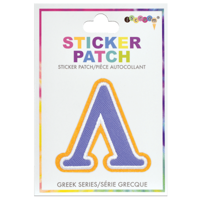 Picture of Lambda Greek Letter Sticker Patch