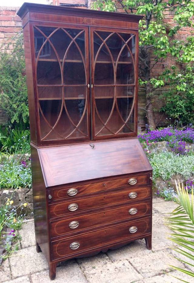 Superg Regency Bureau Bookcase