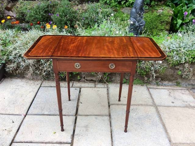Small Regency sofa table