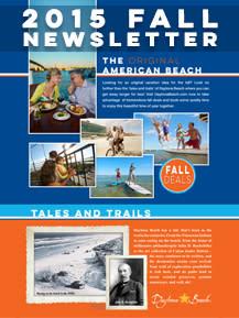 Daytona Beach 2015 Fall Newsletter