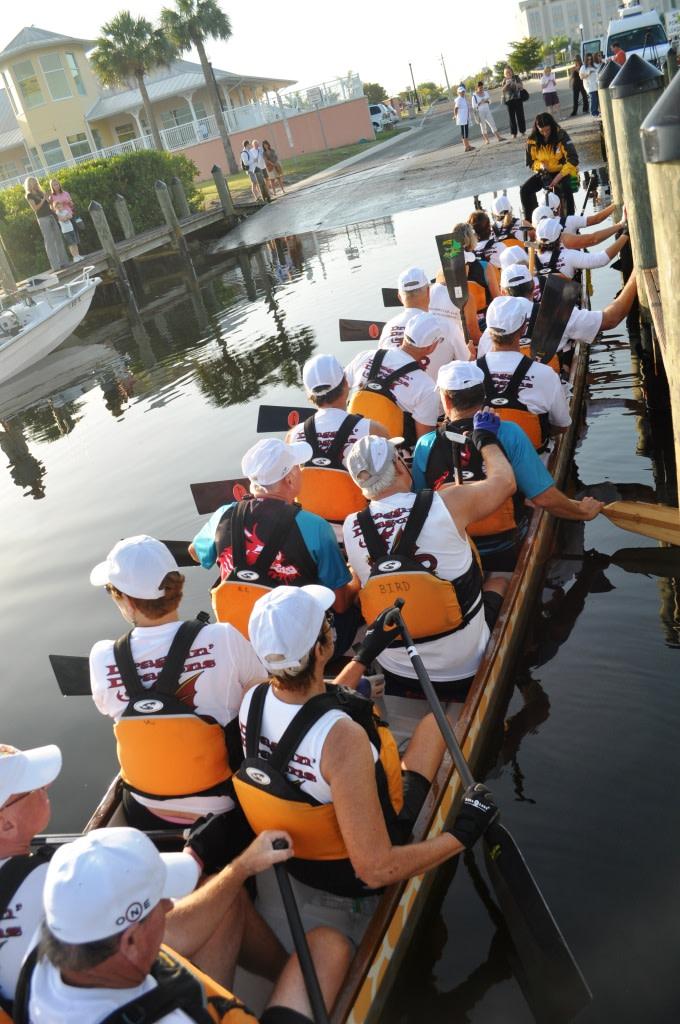 War on the Peace! Punta Gorda Dragon Boat Festival, April 14, 2012