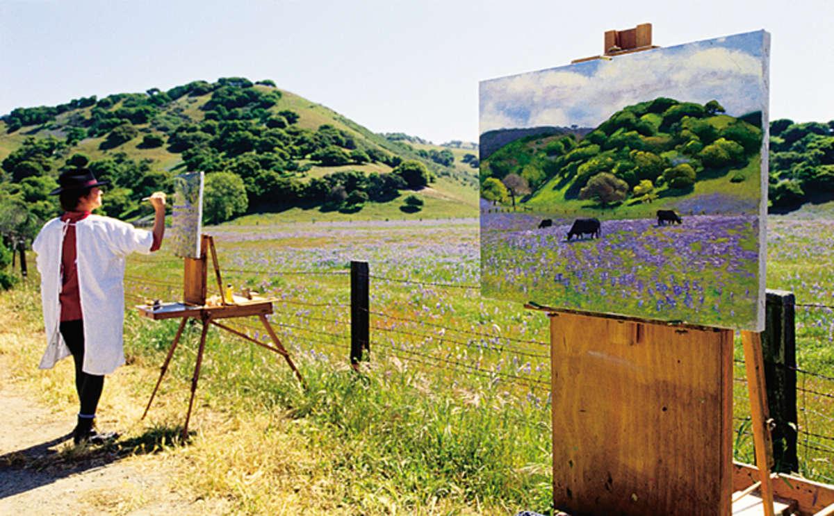 Plein Air Artist, Carmel Valley