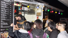 This year more than 70 food trucks and stalls will provide a plethora of Monday night food.