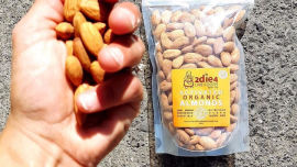 Enjoy some delicious activated nuts!.