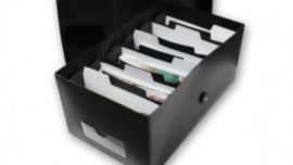 Organise your photos in a sort box.
