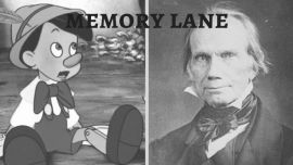 Pinocchio and Henry Clay .