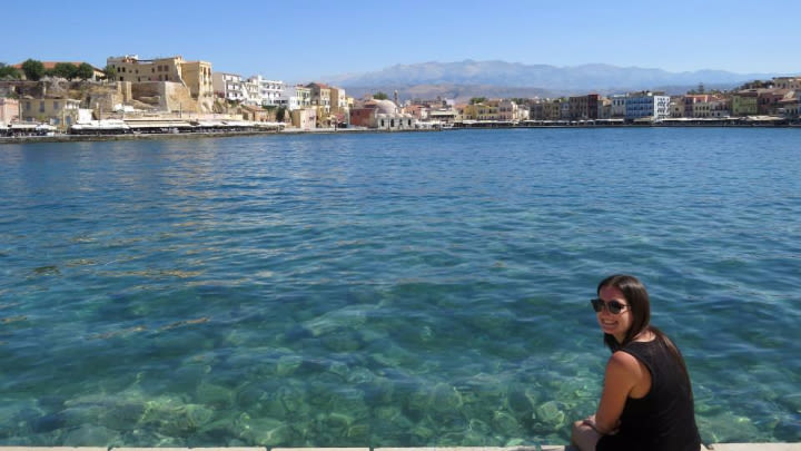 Old Venetian Harbour, Chania.