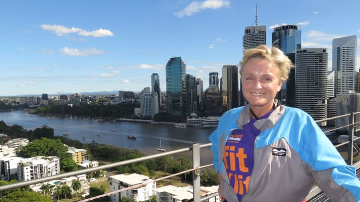 Jennifer conquered Brisbane's Story Bridge to inspire other transplant recipients.