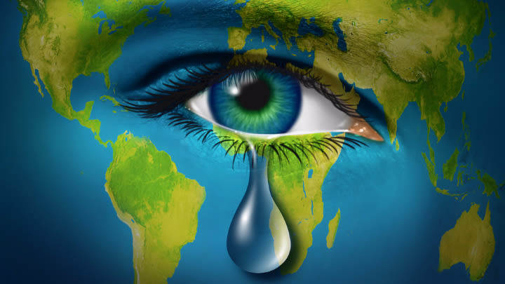 Crippling debt and climate change are the ''gifts'' we are leaving our children.