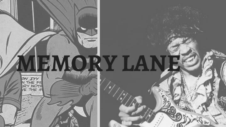 Batman & Jimi Hendrix.