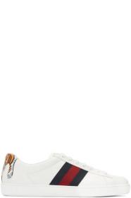 구찌 에이스 스니커 (호랑이) Gucci White Tiger Ace Sneakers