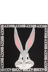 구찌 Gucci Black Guccy Bugs Bunny Scarf