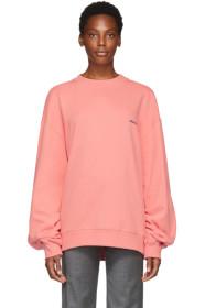 ADER error Pink Basic Sweatshirt