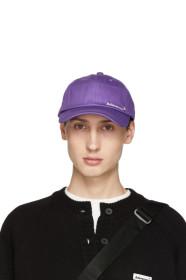 Purple Diagonal Cap