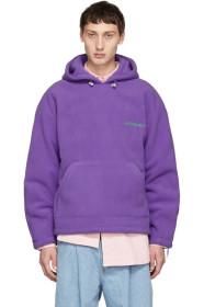 Purple Warm Hoodie