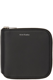 아크네 스튜디오 Acne Studios Black Small Csarite S Wallet